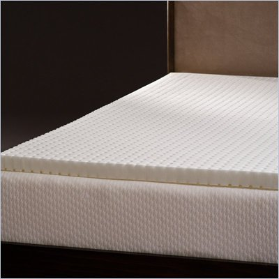Comfort Magic Ventilated 2-inch Memory Foam Mattress Topper