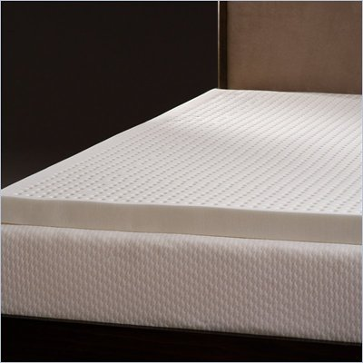 Comfort Magic Ventilated 3-inch Memory Foam Mattress Topper