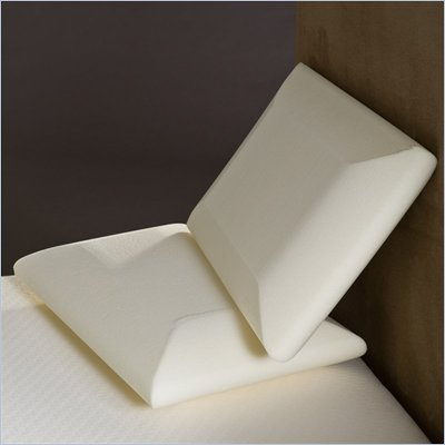 Comfort Magic Crowned Classic Memory Foam Pillow (Set of 2)
