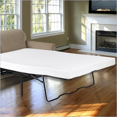 Comfort Magic 4.5-inch Memory Foam Sofa Sleeper Mattress