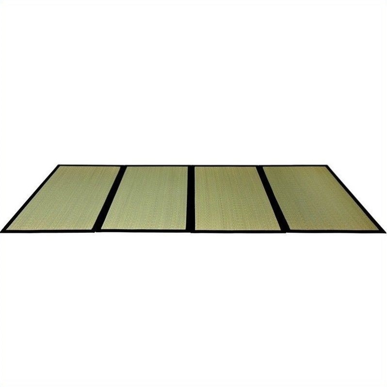 Oriental Furniture Folding Tatami Mat with Fiberboard