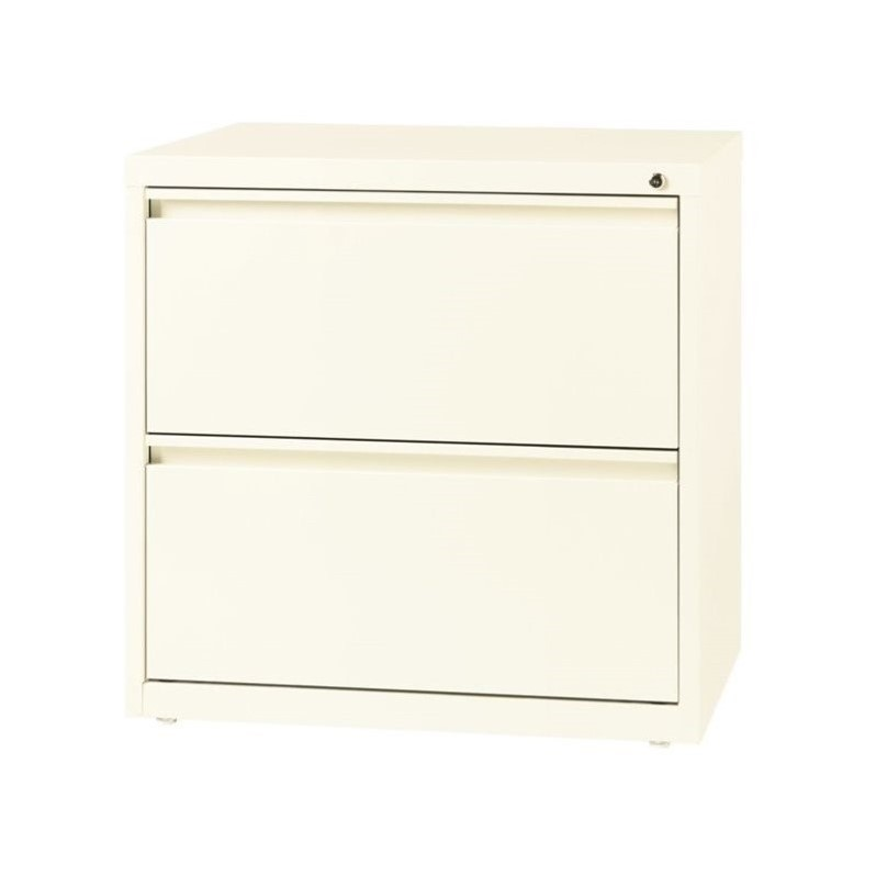Hirsh 2 Drawer Lateral File Cabinet in Cloud