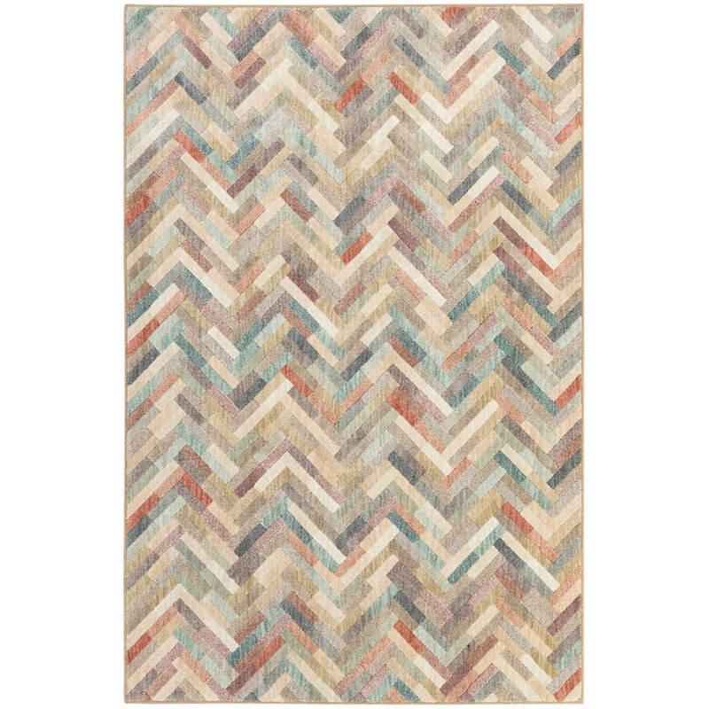 "Mohawk Home Cascade Heights 5'3"""" x 7'10"""" Rug 90526 80178 063094"