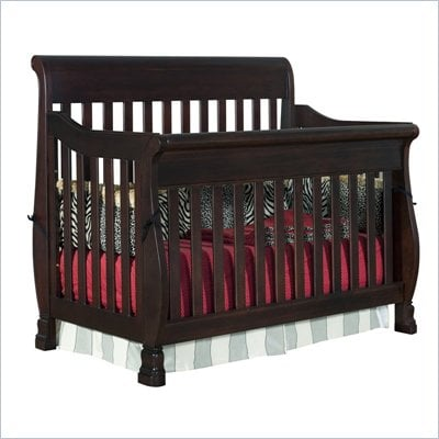 Creations Baby Carragio Convertible Crib in Coffee