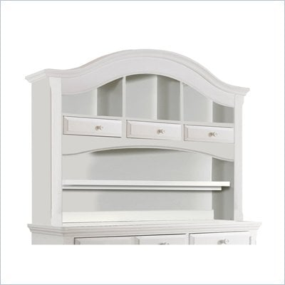 Creations Baby Summer's Evening Combo Hutch in Rubbed White