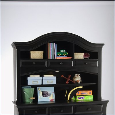 Creations Baby Summer's Evening Combo Hutch in Antique Black