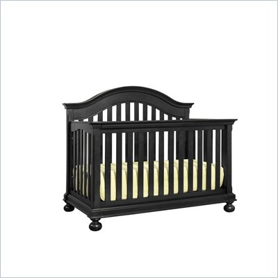 Creations Baby Summer's Evening Convertible Crib in Antique Black