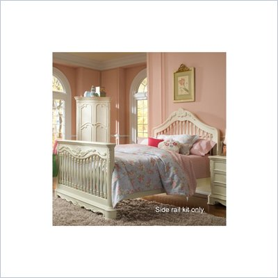 Creations Baby Venezia Crib to Bed Conversion Rails in Vanilla