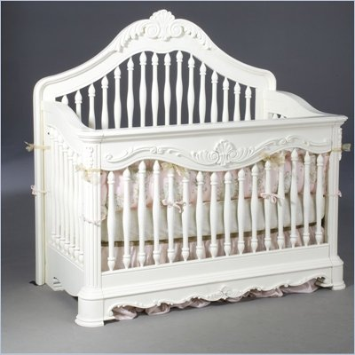 Creations Baby Venezia Convertible Crib in Vanilla