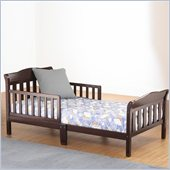 Sb2 by Sorelle Riley Toddler Bed in White Finish