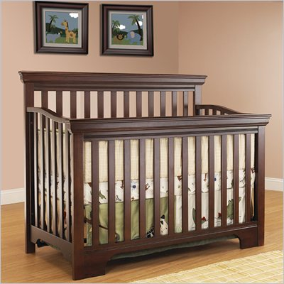 Sb2 by Sorelle Robin 2-in-1 Convertible Crib in Espresso