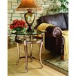 ADD TO YOUR SET: Hammary Suffolk Bay End Table in Antiquity