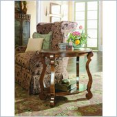 Hammary Siena Oval End Table in Tuscany