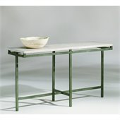 Hammary East Park Sofa Table in Gunmetal