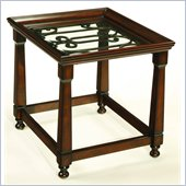 Hammary Drayton Rectangular End Table in Brown
