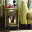 ADD TO YOUR SET: Hammary Elipse Chairside Table in Champagne
