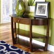 ADD TO YOUR SET: Hammary Concierge Sofa Table in Brown