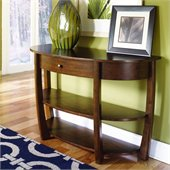 Hammary Concierge Sofa Table in Brown