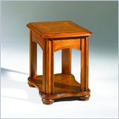 Hammary Fremont Rectangular End Table w/Drawer in Dark Ash