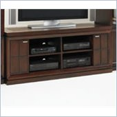 Hammary Kanson Entertainment Cabinet in Oxblood