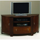 Hammary Oasis Entertainment Console in Cherry/Walnut