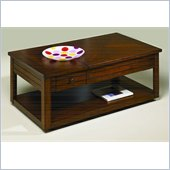 Hammary Nuance Lift Top Rectangular Cocktail Table in Cherry
