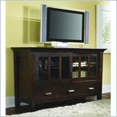 Hammary Urban Flair Entertainment Console in Umber