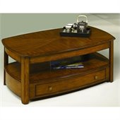 Hammary Primo Rectangular Lift-Top Cocktail Table in Brown