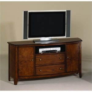 Hammary Primo Entertainment Console in Brown