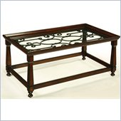Hammary Drayton Rectangular Cocktail Table in Brown