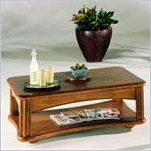 Hammary Fremont Lift-Top Rectangular Cocktail Table in Dark Ash