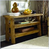 Hammary Luberon Console Table in Weathered Pine Finish