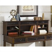 Hammary Mercantile Desk Hutch in Whiskey Finish