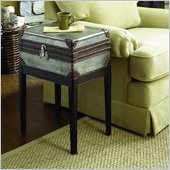 Hammary Hidden Treasures Box On Stand Accent Table