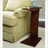 Hammary Chairsides Gushue End Table in Oak