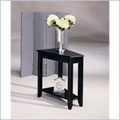 Hammary Chairsides Connors End Table in Black