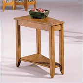 Hammary Chairsides Connors End Table in Oak