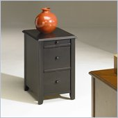 Hammary Chairsides Edwards End Table in Black