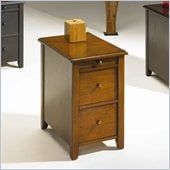 Hammary Chairsides Edwards End Table in Cherry
