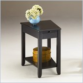Hammary Chairsides Howard End Table in Antique Black