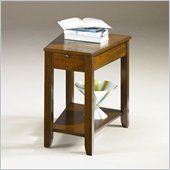 Hammary Chairsides Howard End Table in Dark Oak