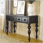 Hammary Mercer Sofa Table in Black Painted Finish