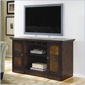 Hammary Vecchio Entertainment Console/TV Stand in Mid-Tone Brown