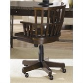Hammary Structure Desk Chair in Distressed Brown