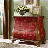 Hammary Hidden Treasures Bombe Accent Chest in Two-Toned Finish