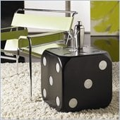 Hammary Hidden Treasures End Table in Black