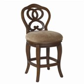 Hammary Hidden Treasures 24 Counter Height Bar Stool in Cherry