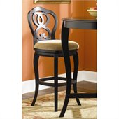Hammary Hidden Treasures 30 Bar Stool in Black