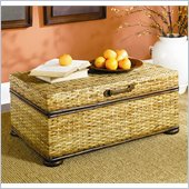 Hammary Hidden Treasures Woven Rattan Trunk Coffee Table