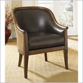 Hammary Hidden Treasures Leather Occasional Accent Chair